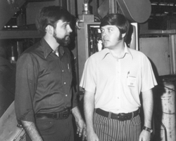 Filter Element Store Co-Founder Darrell in 1976